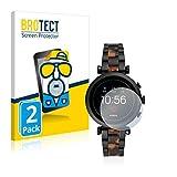 BROTECT 2X Entspiegelungs-Schutzfolie kompatibel mit Fossil Sloan HR (4.Gen) Bildschirmschutz-Folie Matt, Anti-Reflex, Anti-Fingerprint