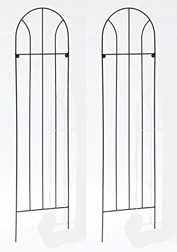 Ruddings Wood Twin Pack - Arched Garden Trellis - Plant Trellis