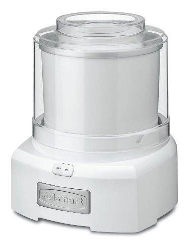 Cuisinart ICE-21FR (Renewed) ice cream maker 1.5 Quart White
