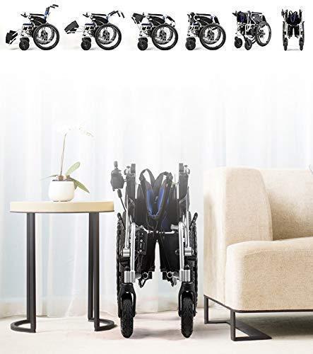 TYZXR Motion Healthcare Lite Trekker Powerchairs - Elektromotorischer Rollstuhl für Erwachsene Zwei Hochgeschwindigkeitsmotoren, Reda, Single Control, Redb, Single Control