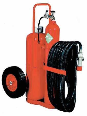 KIDDE 19915 Fire Extinguisher,Wheeled,240BC,125Lb