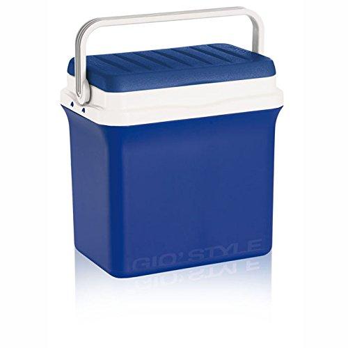 GiòStyle Borsa termica azzurra rigida frigorifero portabile per cibi e bevande Contenitore 22,5 litri ghiacciera della modello BRAVO 25