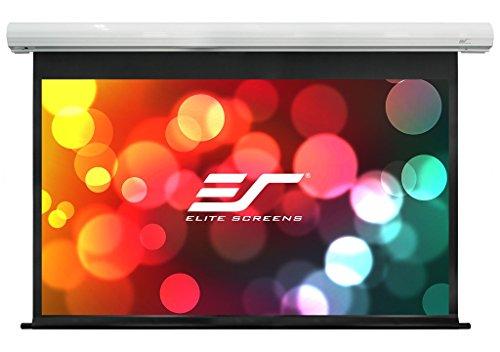 Elite Screens Pantalla motorizada Premium Saker 332 x 187 cm, 16:9 Formato 150 Pulgadas, SK150XHW2-E6