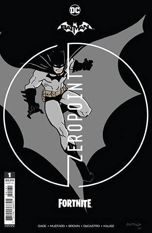 Batman Fortnite Zeropoint #1 Donald Mustard Premium Variant...
