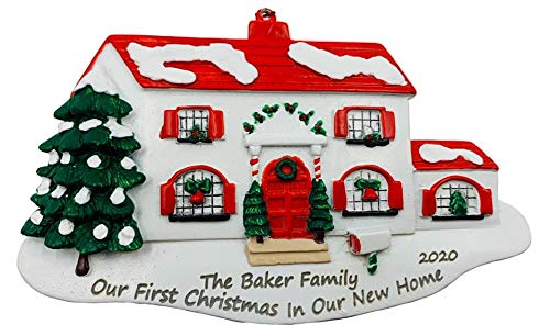 Personalized Our First Christmas in Our New Home Ornament 2020