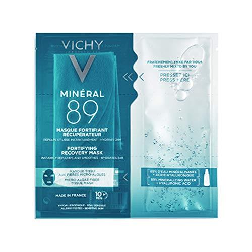 Vichy Minéral 89 - Maschera in tessuto con Acido Ialuronico Rimpolpante, 29g