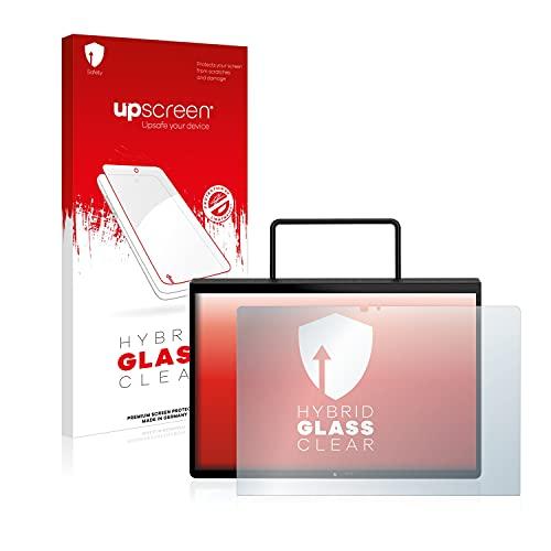 upscreen Protector Pantalla Híbrido Compatible con Lenovo Yoga Pad Pro Hybrid Glass – 9H Dureza