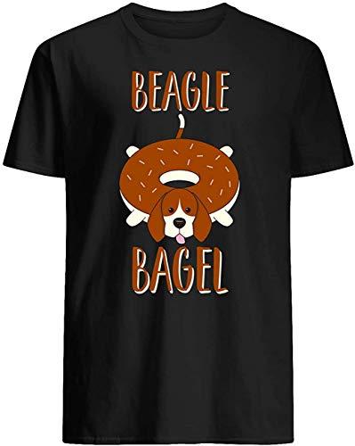 mingming Donut Beagle Bagel T-ShirtBlack3XL