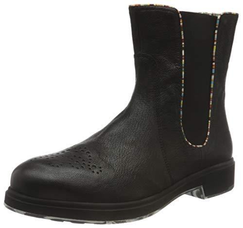 THINK! Damen COGITA_3-000116 chromfrei gegerbter, nachhaltiger Chelsea-Boots, 0000 SZ/Multicolour