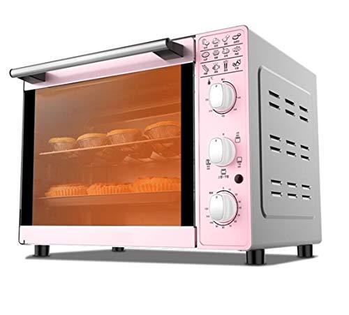 Four électrique, multifonction 33L four, ustensiles de cuisson ménagers, supérieure à 4 tubes et à température contrôlée inférieure chauffage du four peut être utilisé dans la cuisine / pâtisserie / r