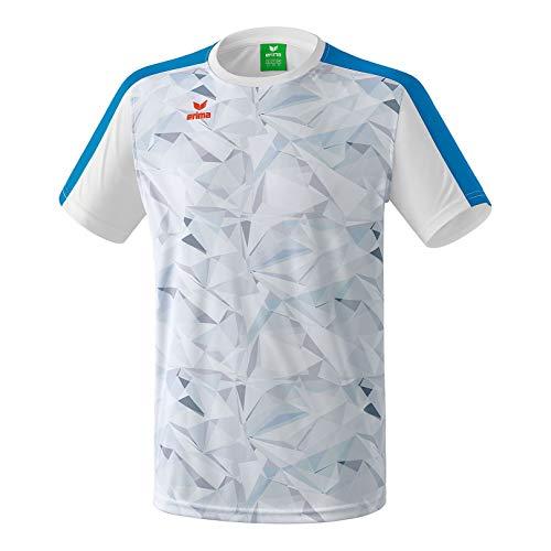 Erima Herren Masters T-Shirt, weiß/Imperial Blue, L