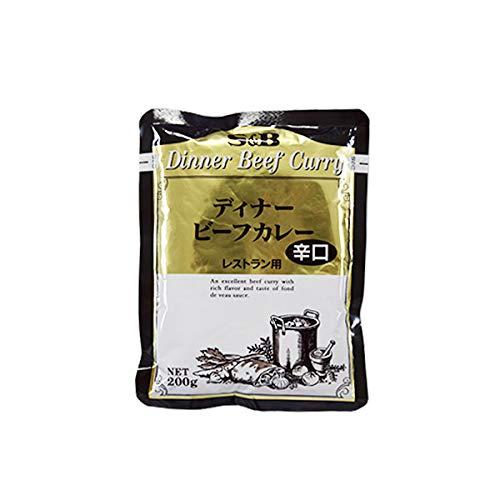 ビーフカレー 【辛口】レストラン用 レトルトカレー 200g 30個 業務用 エスビー食品