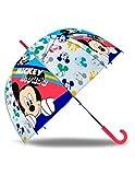 BigBuy Fun S2411399 Ombrello Mickey Mouse