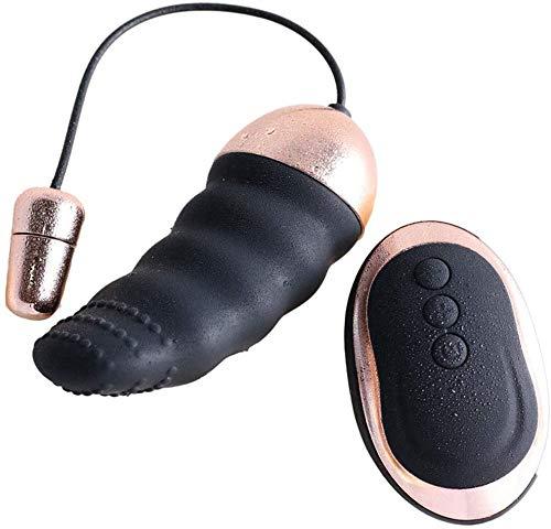 Boules de Geisha Vibrante Kegel Ball avec 10 Modes de Vibration, Télécommande sans Fil, Imperméable IPX7 et USB Rechargeable, pour Renforcer & Tonifier Les Muscles Pelviens