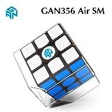 CuberSpeed GAN 356 Air SM 3x3x3 Speed Cube Black Gans 356 Air S Magnetic 3x3 Magic Cube gan 356air S M ( New Version )