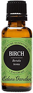 Edens Garden Birch Essential Oil, 100% Pure Therapeutic Grade (Highest Quality Aromatherapy Oils- Massage & Pain), 30 ml