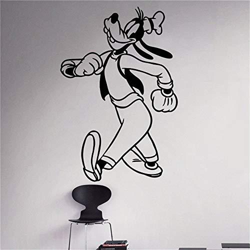 Goofy paseos Disfraz Niños Nombre bebé para habitaciones infantiles pegatina de pared frases pegatinas decorativas pared