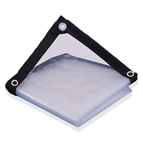Zeltplanen- Transparente Dicke Wasserdichte Plane, Outdoor-Sonnenschutzplanen-Kunststoffgewebe, Plant Rainproof Insulation Film-120g / m² (größe : 4x4m)