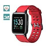 Arbily Reloj Inteligente Pantalla Táctil Completa Pulsera de Actividad Smartwatch Mujer Hombre...