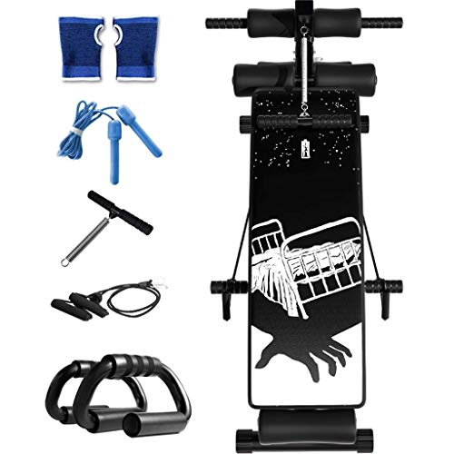 Great Price! Folding Sit-Up Board Home Fitness Equipment Dumbbell Bench Sports Equipment Abdominal B...