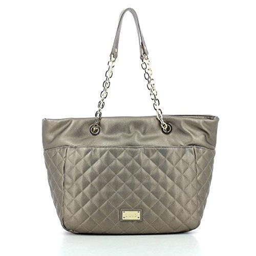 LIU JO, Damen Handtaschen, Shopper, Schultertaschen, Tote-Bag, 40 x 27 x 20 cm (B x H x T), Farbe:Bronze