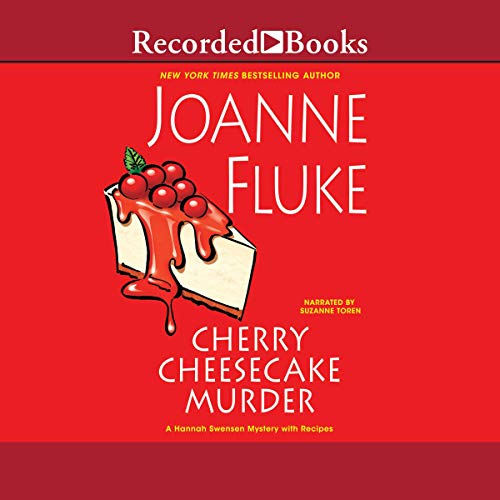 Cherry Cheesecake Murder audiobook cover art