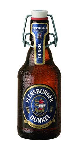 【輸入 ドイツ黒ビール】フレンスブルガー・ドゥンケル(FLENSBURGER DUNKEL)330ml × 6本セット