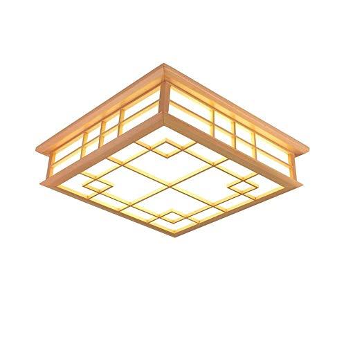 BOOHR Ventilador de techo con lámpara versión mejorada de la circulación del viento Rueda 36W invisible Ventilador de techo de luz LED de control remoto de tres Temperatura de color ultra silencioso v