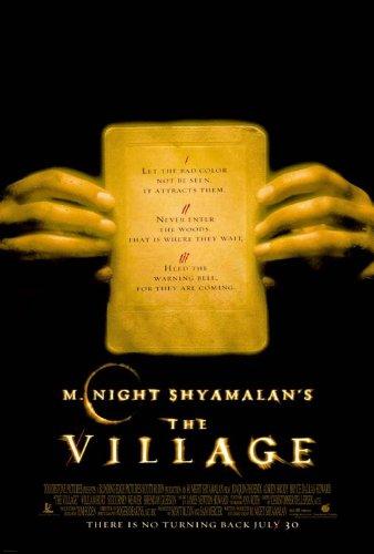 THE VILLAGE - 27X40 D/S Original Movie Poster One Sheet 2004 M. Night Shyamalan