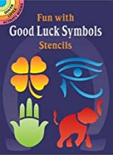 Fun With Good Luck Symbols Stencils (Dover Stencils)