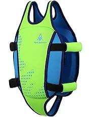 MP Michael Phelps de los niños–Tabla de natación, Infantil, Color Fluorescent Green/Light Blue, tamaño Large