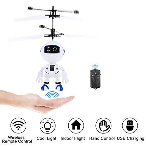 Kim Player RC Helicopter,Remote Control Helicopter,Indoor Flying Toys,Hand Control Helicopter for Kids,Rechargeable Mini Helicopter for Boys and Girls, Best Gift for 6 Year Old and UP