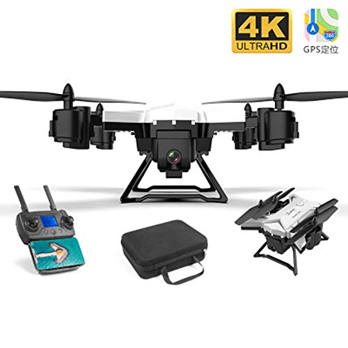 GPS Onbemande Vliegtuigen, UAV's 4K HD 5G WIFI FPV UAV Luchtfoto Drones Dubbelvouwen 4K High-Definition Intelligente Positionering Thuis Quadcopter,1