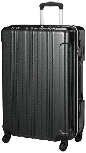 [ビバーシェ] スーツケース ファスナー TSAロック 大型 SF2 SF2-L 80L 4.5kg カーボンチャコール