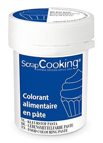 Scrapcooking Colorant en Pâte Bleu Roi 20 g