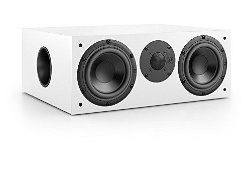 Nubert nuBox CS-413 Centerlautsprecher | Lautsprecher für Heimkino & Musikgenuss | Stimmen auf hohem Niveau | Passive Centerbox mit 2 Wege Technik | Kompaktlautsprecher Weiß