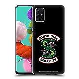 Head Case Designs Oficial Riverdale Serpientes del Lado Sur Arte Gráfico Carcasa rígida Compatible con Samsung Galaxy A51 (2019)