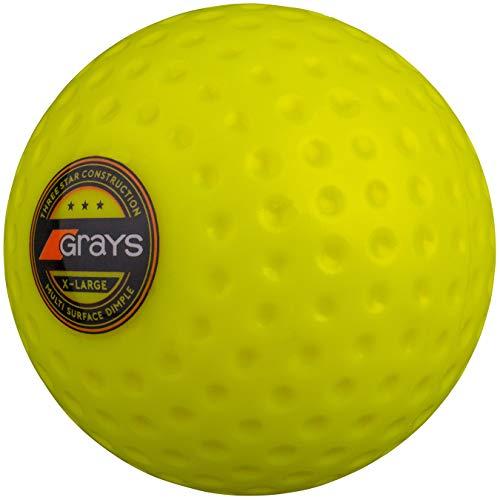 GRAYS Hockey Ball, Neongelb, Einheitsgröße