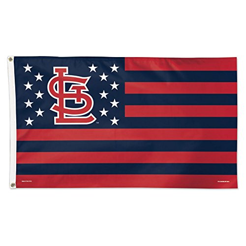 WinCraft MLB St. Louis Cardinals Deluxe Flag, 3