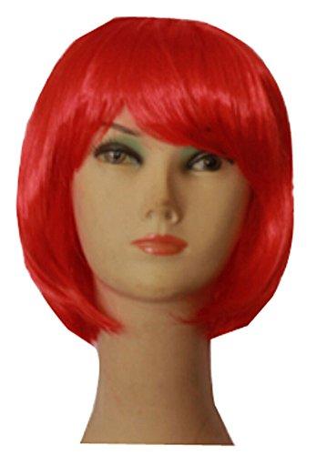 Costumes bandes Perruques enfants bourgeons cheveux cosplay cheveux rouges Hallo