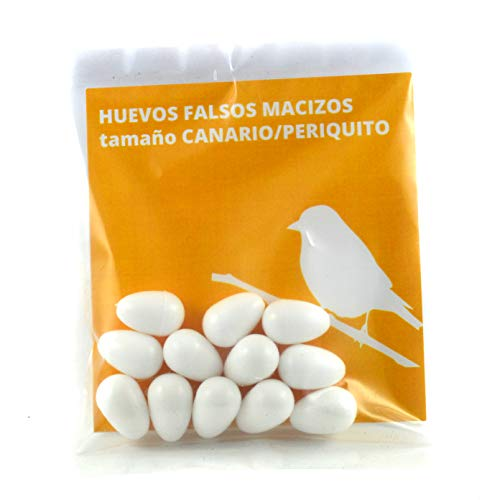 FINCA CASAREJO Huevo Falso Macizo Canario/Periquito. (12)