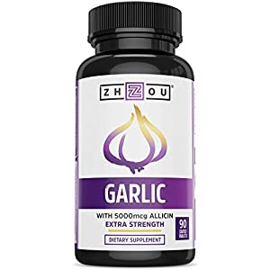 THE ALLICIN DIFFERENCE. Allicin is the active component in garlic (beneficial to the immune system and circulatory system) that is released from a freshly crushed clove. We capture 5000 mcg of allicin in each acid-protected enteric coated tablet. MOR...
