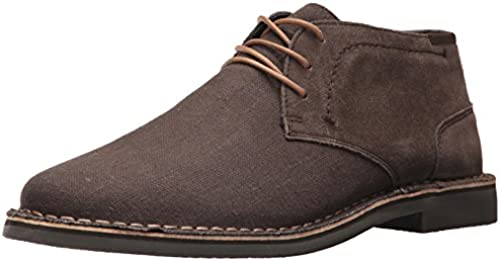 Kenneth Cole REACTION Men& 039;s Desert Sun SU Chukka Stiefel, Taupe Suede Textile, 9.5 M US