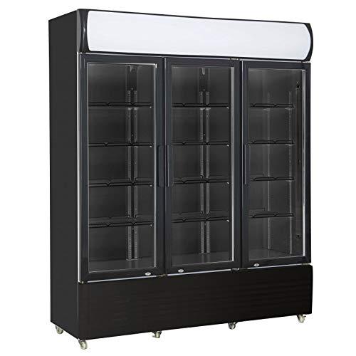 Armario refrigerado de 3 puertas de cristal – Combisteel – R290 3 puertas con cristal