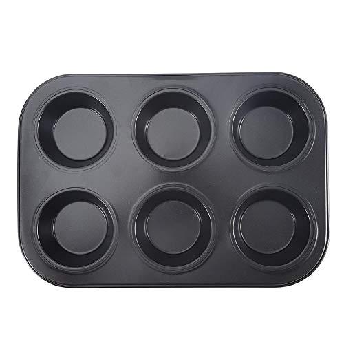 Facile à nettoyer, plateau de cuisson à gâteaux, moule de cuisson résistant aux hautes températures de haute qualité, pour cuisine pour la maison(black)