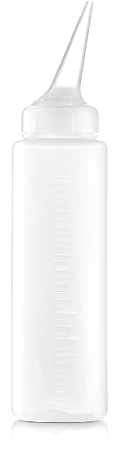 Hair Color Applicator Bottle with Angle Tip 8.5 oz.