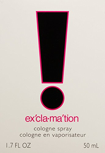 New Coty Exclamation Cologne Spray 50ml Scent Women Perfume Fragrance For Her Uk