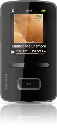 Philips GoGear Vibe 8GB MP3 Player SA3VBE08K/37 (Discontinued by Manufacturer)