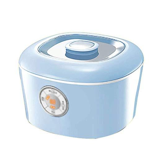 YILIAN Máquina de Yogurt: Fabricante de Yogurt, Pantalla Digital automática de Control de Temperatura de Tiempo de Yogurt y diseño de Acero Inoxidable