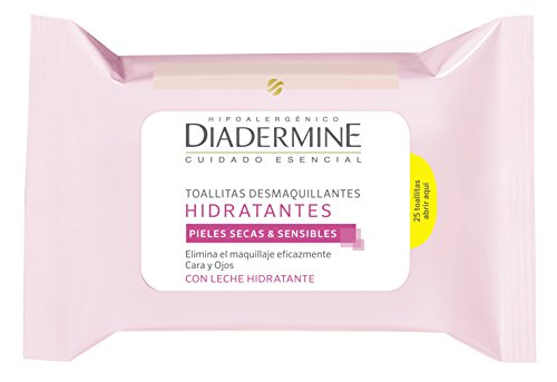 Diadermine Lingette Démaquillante Hydratante 25...